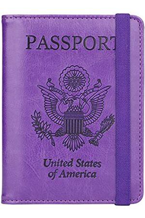 GDTK Reisepasshülle, RFID-blockierend, Leder