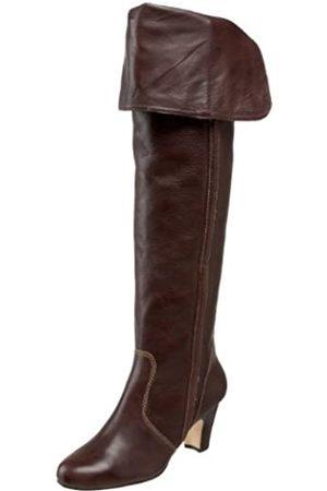 Daniblack Damen Overknees - Ophelia Damen Overknee-Stiefel, (espresso)