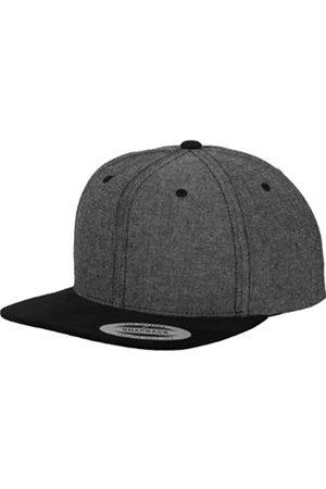 Flexfit Erwachsene Mütze Chambray-suede Snapback, One size