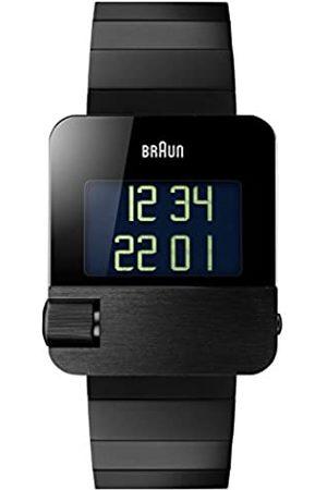 von Braun Herren-Armbanduhr Digital Quarz Edelstahl - BN0106BKBKBTG