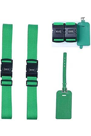 HLFeng Reisetaschen - Reise-Gürtel mit Schloss, verstellbare Koffergurte