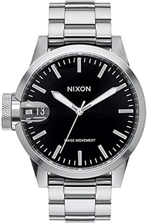 Nixon Herren Digital Quarz Uhr mit Edelstahl Armband A441-000-00