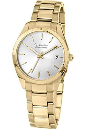 Jacques Lemans Herren Uhren - JACQUESLEMANSDamenuhrLaPassionMetallbandmassivEdelstahlip-GoldLP-132I