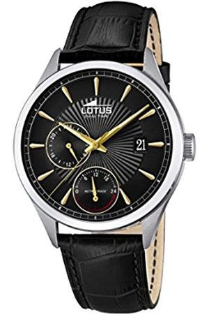 Lotus Herren Multi Zifferblatt Quarz Uhr mit Leder Armband 18577/6