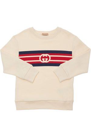 Gucci Sweatshirt Aus Baumwolle Mit Logo