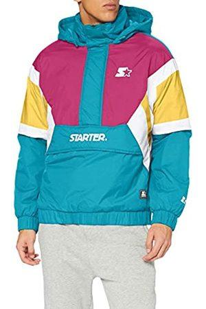 STARTER BLACK LABEL Herren Color Block Half Zip Retro Jacket Windjacke