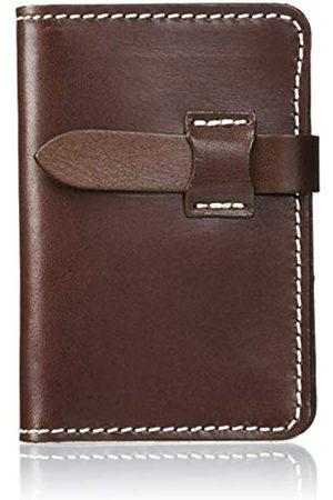 Naniwa Leather Tochigi Kartenetui aus Leder (Braun) - 4589542639948