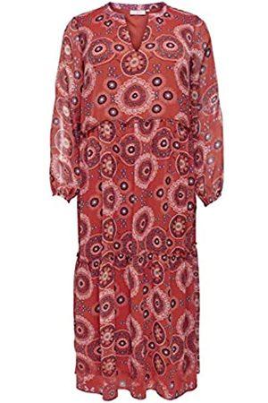 Carmakoma Damen Freizeitkleider - CARTRUST LS Maxi Dress