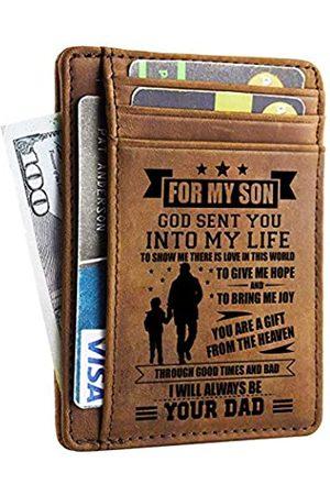 DOPTIKA Minimalistische Geldbörsen, Geschenk für Sohn vom Vater