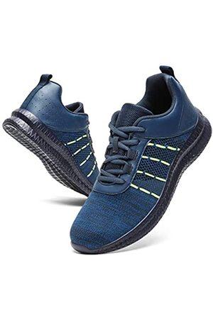 Hgyltch Herren Laufschuhe Wanderschuhe Mode Sneakers Gym Anti Skid Atmungsaktiv Tennis Workout Sport Outdoor Athletic Schuhe