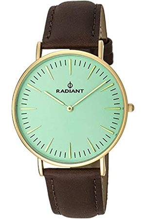 Radiant Herren Analog Quarz Uhr mit Leder Armband RA377612