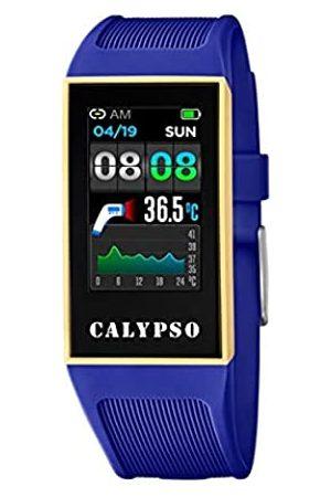 Calypso UhrenmodellK8502/2ausderSMARTWATCH-Kollektion2380/4130mmGehäusemitdunkelblauemKautschukarmbandfürDamenK8502/2