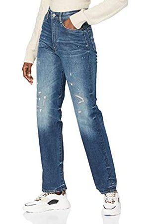 G-Star Womens Tedie Ultra High Waist Straight Jeans