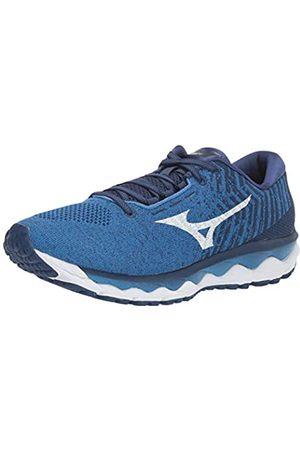 Mizuno Herren Schuhe - Herren Wave Sky WAVEKNIT 3 Running Shoe Laufschuh, Campanula