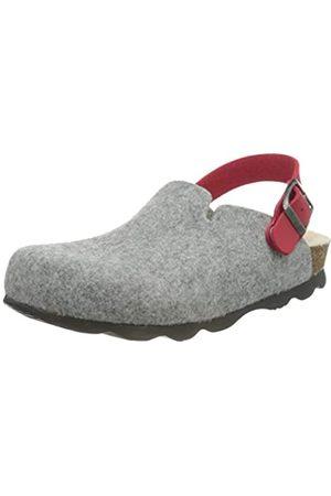 Bayton NOMA Kid Wool Sole/Taupe Mule