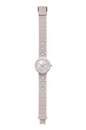 Hip Damen Uhren - Armbanduhr Frau Pearls quadrante Weiss e uhrarmband in silikon, Glam