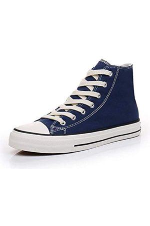 CullForYou Damen Schuhe - Damen Bunte High-Top Sneaker Schuhe, Blau (marineblau / )