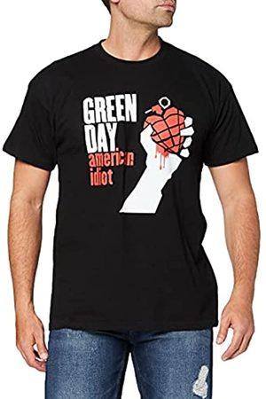 Unbekannt Green Day Herren American Idiot Kurzarm T-Shirt Gr. S