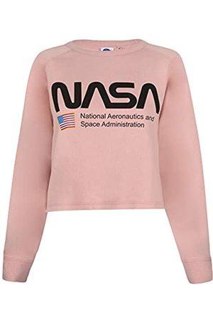 Nasa Damen Sweatshirts - Damen National Aeronautics Cropped Crew Sweatshirt
