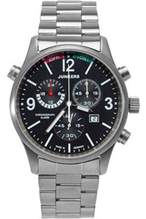 Junkers Herren Uhren - Herren-Armbanduhr XL Flugweltrekorde G38 Chronograph Quarz Titan 6296M2