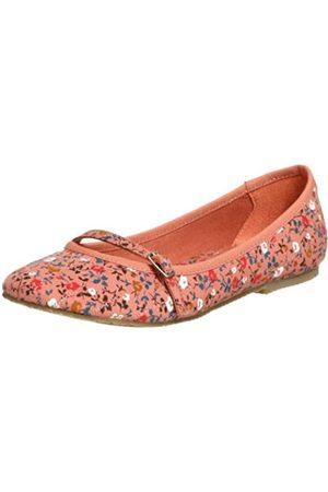 BC Footwear Damen Cornrows Flat, Pink (Korallenrot)