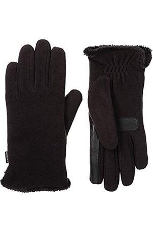 Isotoner Damen Handschuhe - Damen Fleece Touchscreen Gloves with Water Repellent Technology Handschuhe für kaltes Wetter Einheitsgröße