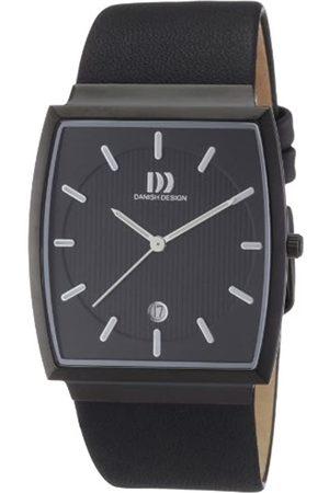 Danish Design Herren-Armbanduhr Analog Quarz Leder 3314351