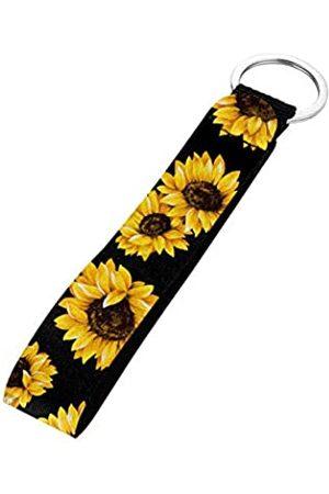Renewold Mädchen Schlüsselanhänger - Handgelenk-Schlüsselband für Damen und Mädchen - Gelb - Einheitsgröße