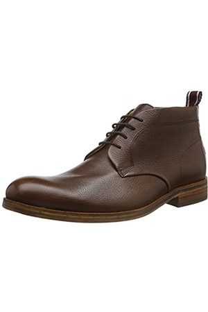 Hudson London Herren Lenin Calf Chukka Boots, (Brown)