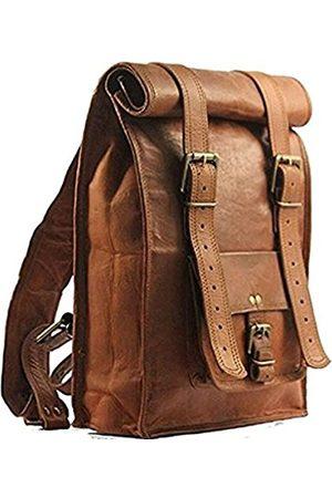 DLC Global Laptop- & Aktentaschen - Leder-Rucksack, Messenger Umhängetasche, groß, süßes Design, passend für Laptops bis zu 53,3 cm (21 Zoll), verstellbare Größe