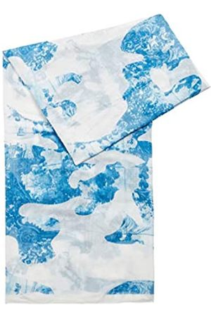 HUGO BOSS Damen Schals - Damen C LASEA Schal aus leichtem Modal mit Fliesen-Print