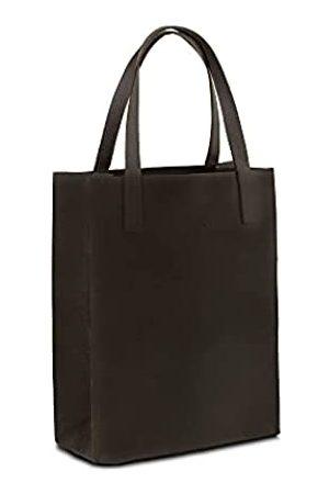 YAYAS PIEL Damen Reisetaschen - YAYAS Reise-Schultertasche aus Leder, für Damen und Herren, mit Ledergriffen, handgefertigt, Braun (dunkelbraun)