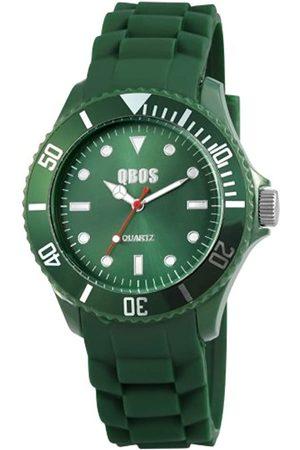 QBOS Herren Uhren - Herren-Armbanduhr XL Analog Quarz Verschiedene Materialien RP3468610003