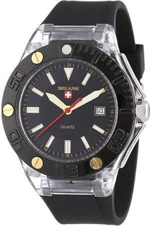 Alpine Swiss Uhren - Swiss Alpine Unisex-Armbanduhr Beat Analog Quarz Silikon SA.Beat.1.8.87.77