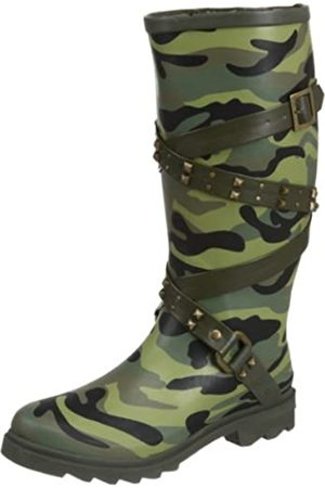 Dirty Laundry By Chinese Laundry Damen Radial Camouflage Kniehohe Stiefel, ( / )