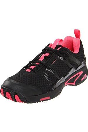 Wilson Damen Schuhe - Women's Tour Spin II-W, Black/Super Pink