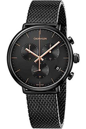 Calvin Klein Herren Uhren - CalvinKleinUnisexErwachseneChronographQuarzUhrmitEdelstahlArmbandK8M27421