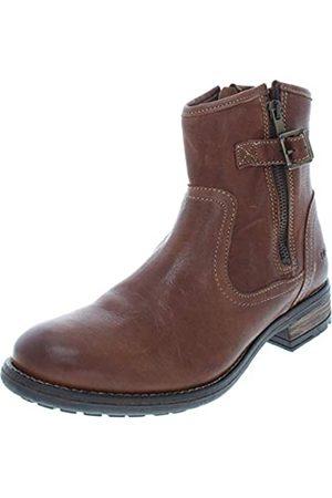 Taos Footwear Damen Convoy Lederstiefel, (cognac)