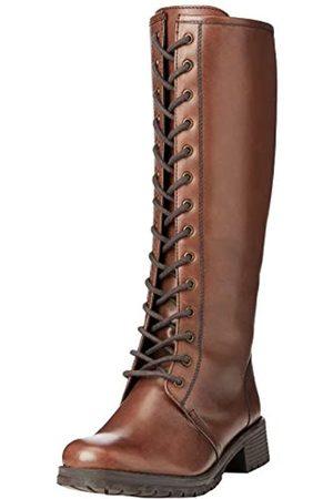 Joe Browns Damen Schnürstiefel - Damen Class Act Leather Lace Up Boots Mode-Stiefel