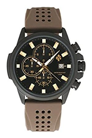 STARLITE Herren Uhren - StarliteUniverseHerrenAnalogAutomatikUhrmitSilikonArmband11084