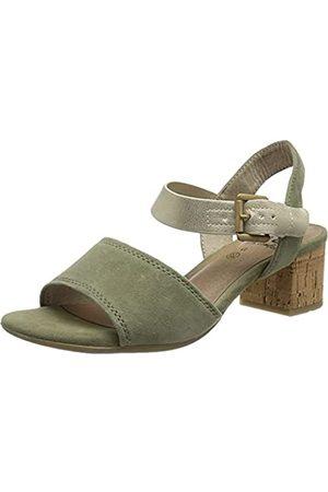 Jana 100% comfort Damen Sandalen - Damen 8-8-28303-26 Sandale mit Absatz