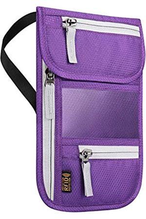LACE INN Herren Reisetaschen - RFID-blockierender Reisepasshalter für Damen und Herren, von , verstellbarer Schultergurt, Umhängetasche, Messenger-Tasche, wasserabweisend