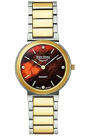 Soehnle Bruno Söhnle Damen Analog Quarz Uhr mit Edelstahl Armband 17-23108-492
