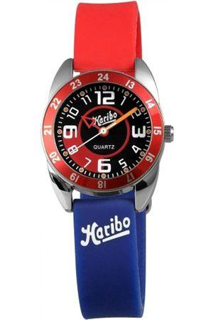 Haribo Uhren - Unisex-Armbanduhr Analog Silikon HA3867-RD-BL3