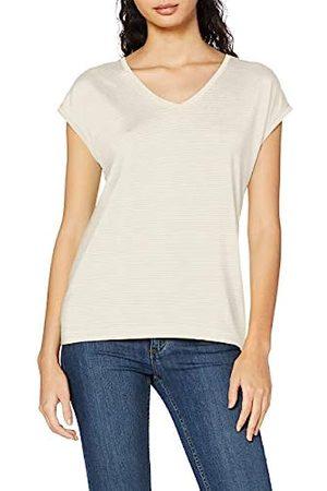 Pieces Damen Pcbillo Tee Lurex Stripes Noos T-Shirt, (Bright White Detail: )