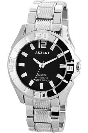Akzent Herren-Armbanduhr XL Analog Quarz Verschiedene Materialien SS7421000037