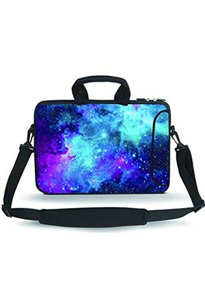 Baocool 14 15 15.4 15.6 inch Laptop Shoulder Bag Messenger Bag Case Notebook Handle Sleeve Neoprene Soft Carrying Tablet Travel Case with Accessories Pocket (14-15.6 inch)