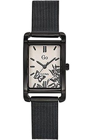 GO Girl Only Damen Analog Quarz Uhr mit Edelstahl Armband 695168