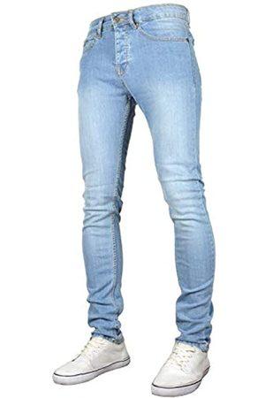 526Jeanswear Herren-Jeans Raptor Stretch Super Skinny Fit Gr. 40 W/32 L
