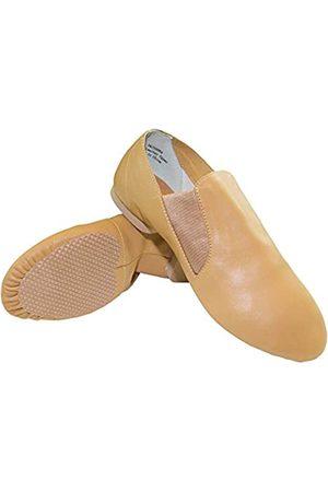 Danzcue Damen Top Dance Leder Jazz Schuhe 4.5M US / 34 EU